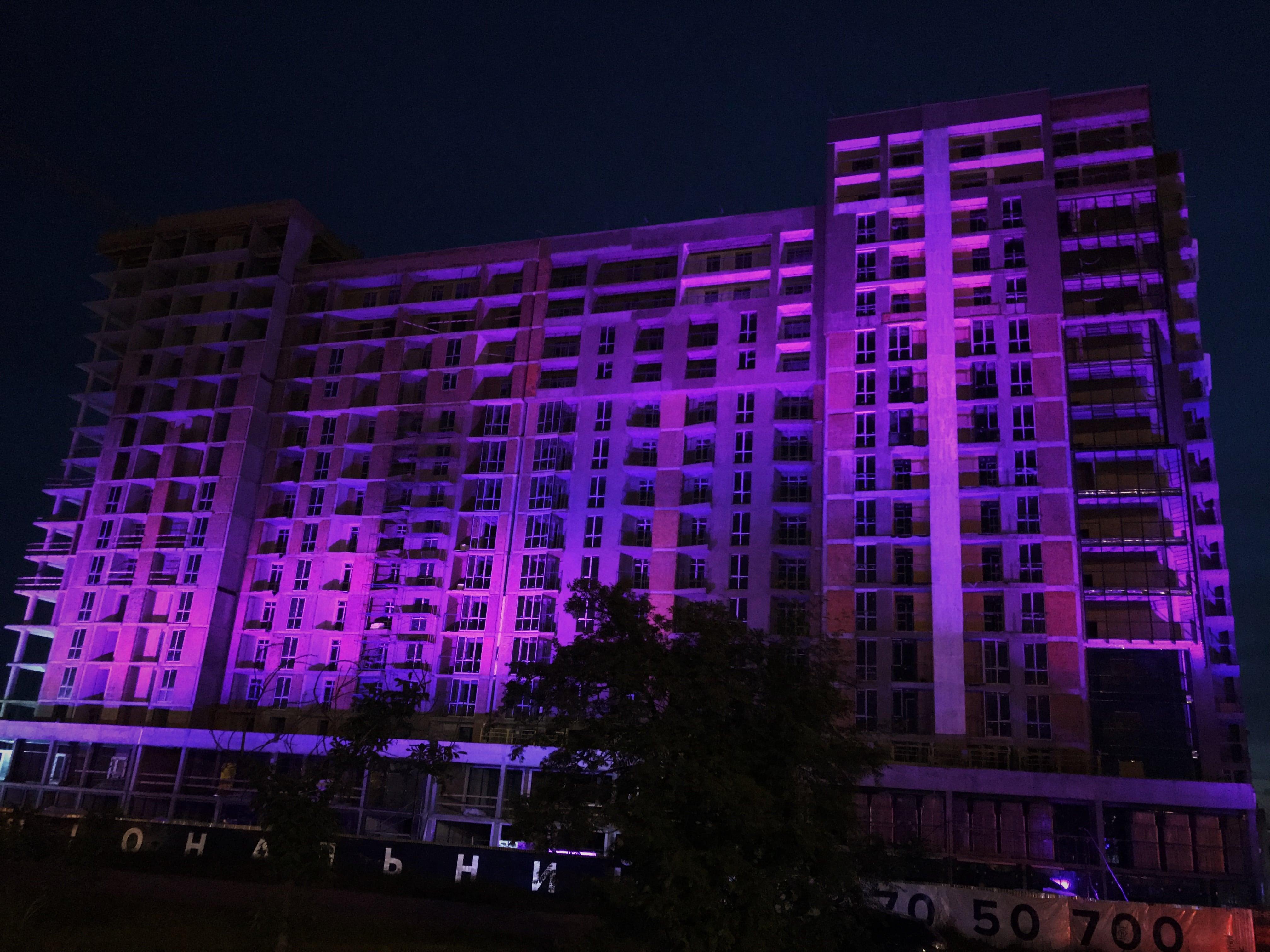 архітектурне освітлення жк