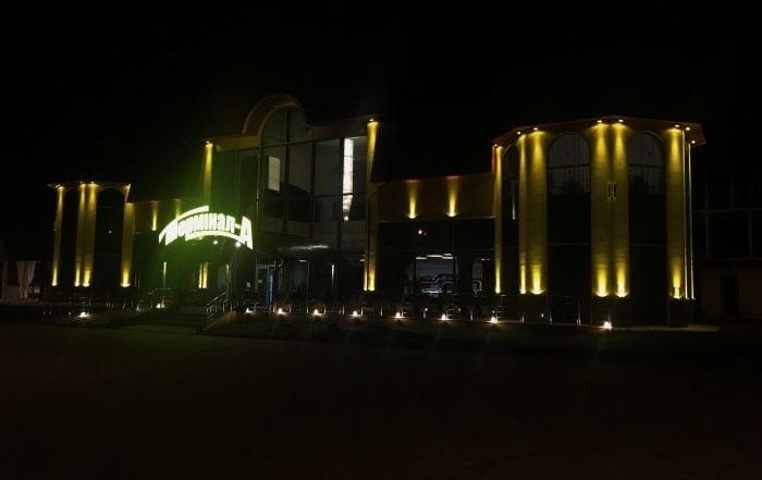 """Архітектурне освітлення готель-ресторану """"Термінал А"""""""