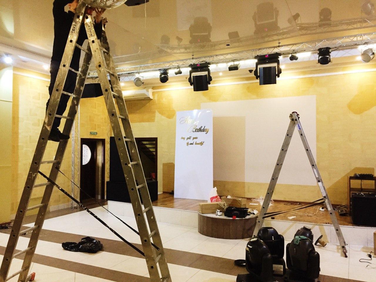 ремонт світлового та звукового обладнання