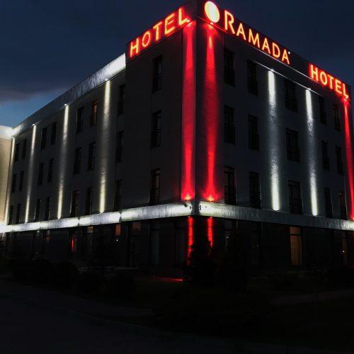 лед освітлення готелю