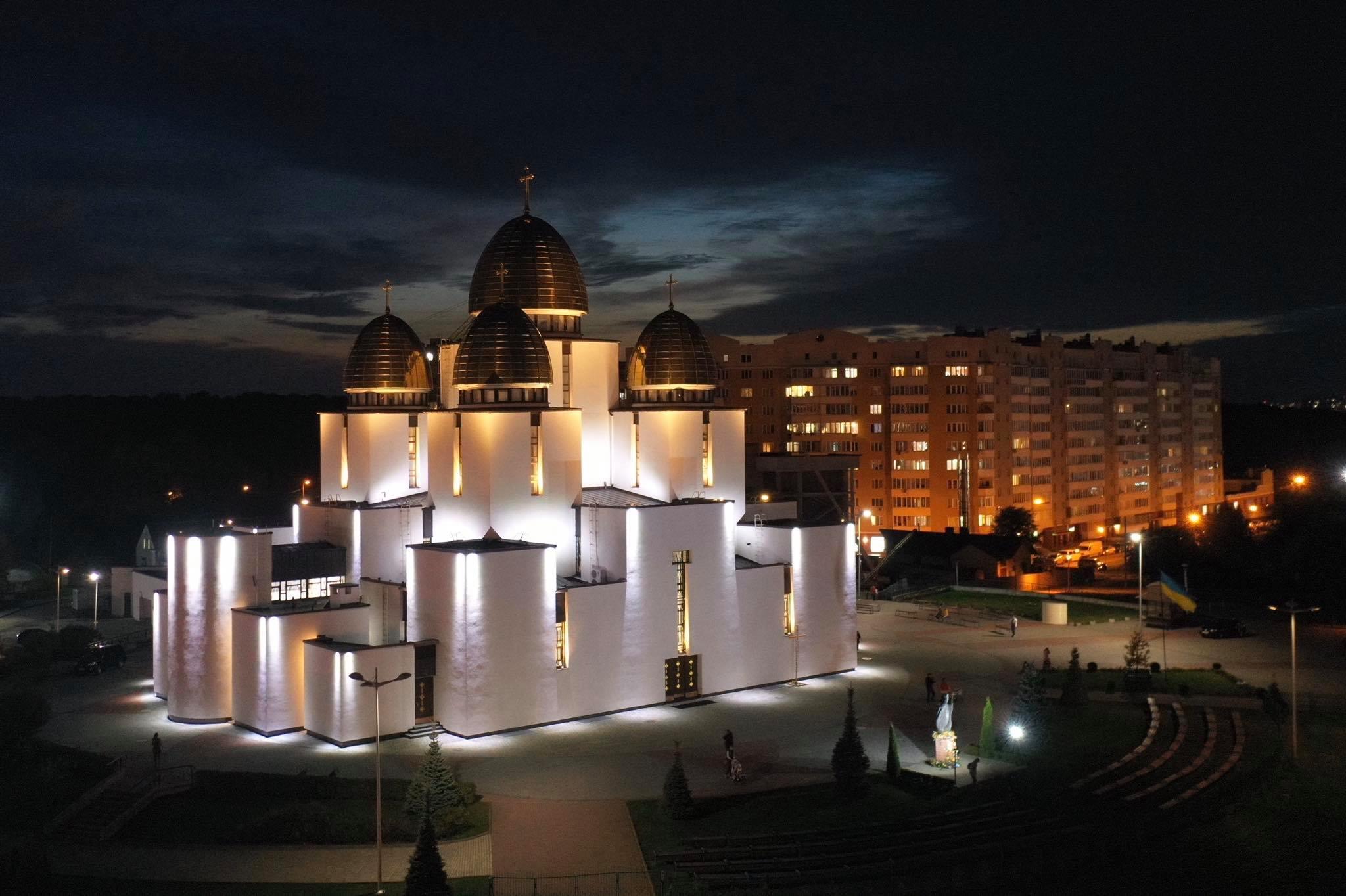 освітлення церкви