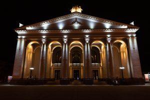 архітектурне освітлення драмтеатру рівне